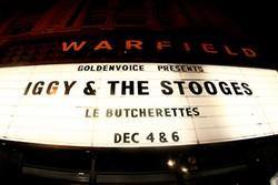 Iggy Pop @ The Warfield