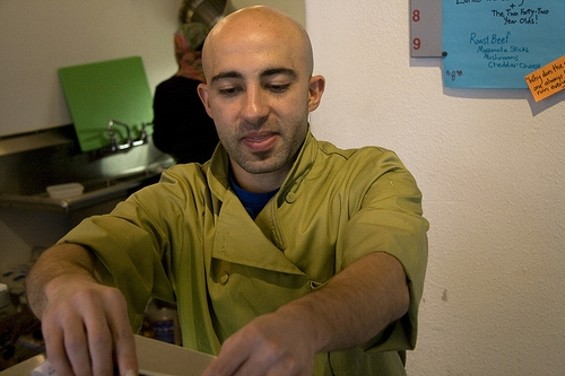 Ike Shehadeh says he still hsan't received formal notice of eviction. - DAWN M./YELP
