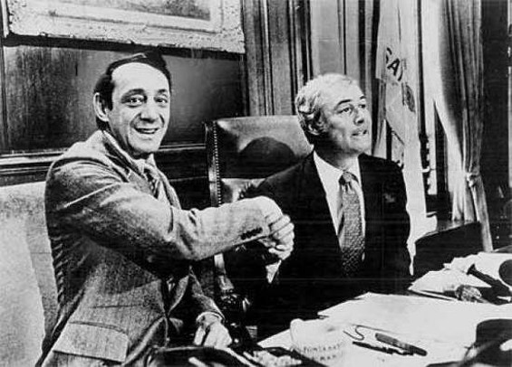 In Memoriam: Harvey Milk and Mayor George Moscone died 35 years ago this week. - SF EXAMINER ARCHIVES