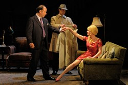 KEVIN BERNE - In Pinter's Homecoming, the wife becomes a pass-around party favor.