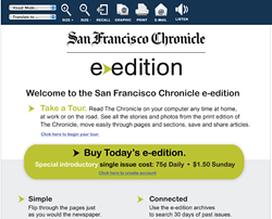 In the Chronicle's vision of the online future, readers will pay $1.50 for stories already available free elsewhere