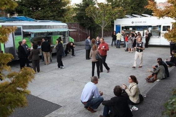 In the course fo a year, food trucks like Liba Falafel and Seoul on Wheels have given brick and mortars serious competition. - LAUREL H./YELP