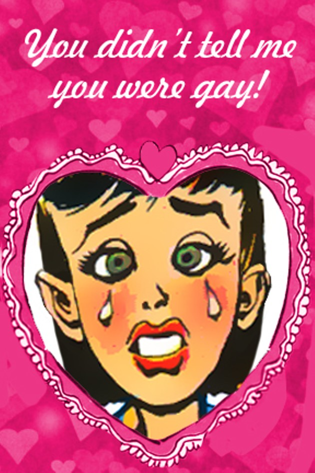 inappropriate valentines day cards from sf weekly the snitch - Gay Valentines Cards