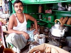 Indian chai walla. - PROXY INDIAN/FLICKR
