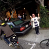 Indignant Dude Gives San Francisco Cyclists Not One, But Two Middle Fingers