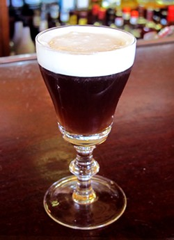 LOU BUSTAMANTE - Irish Coffee at Buena Vista Cafe