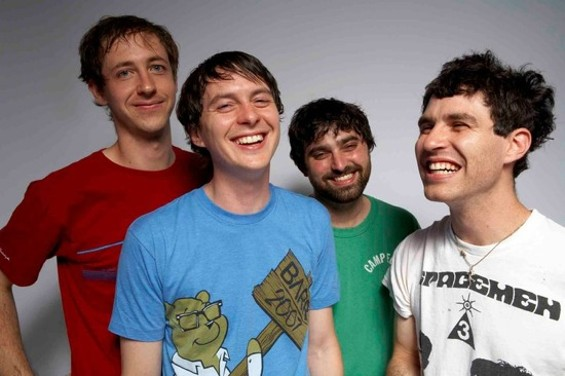 Is Animal Collective laughing in the face of Mother Nature, or laughing at the fact that they'll now sell more tickets?
