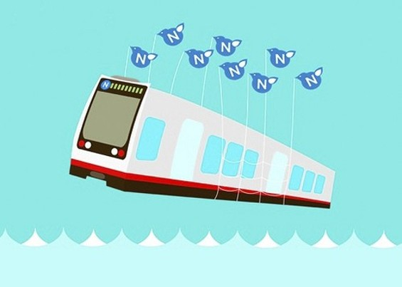 Is the relationship between Twitter and Muni symbiotic? - N-JUDAH CHRONICLES/LAUREN OLIVER -- USED WITH PERMISSION