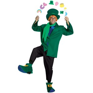 It takes more than a green suit and a buzz to make you Irish...