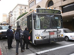 "It turns out numerous city departments want to ""take"" Muni as well -- for millions of dollars"
