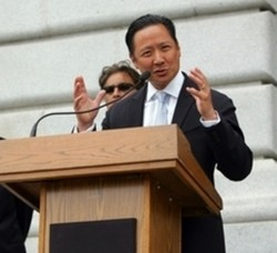 It's a protest double-header starring Jeff Adachi and the Iranian people... - RICHARD BUI