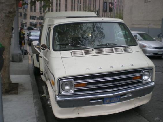 It's a van... - JOE ESKENAZI