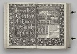 USED WITH PERMISSION OF OCTAVO - It's No E-book: Octavo's edition of Chaucer's Works.
