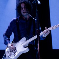 Jack White Turns Up the Volume at Not So Silent Night