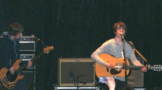 Jake Bugg at Rickshaw Stop - ALL PHOTOS BY THE AUTHOR.