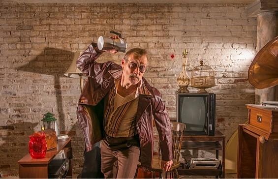 James Carpenter stars as Teach in 'American Buffalo' - DAVID ALLEN