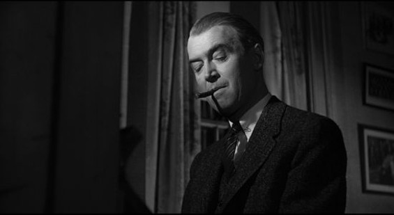 James Stewart as Paul Biegler