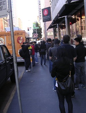 JapaCurry's line at 11:30 this morning. - JOHN BIRDSALL