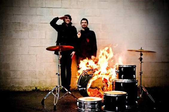 Japandroids hit the Hemlock Sunday