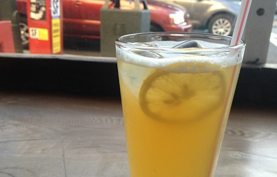 Jasmine Tea Lemonade at Samovar - ANNA ROTH