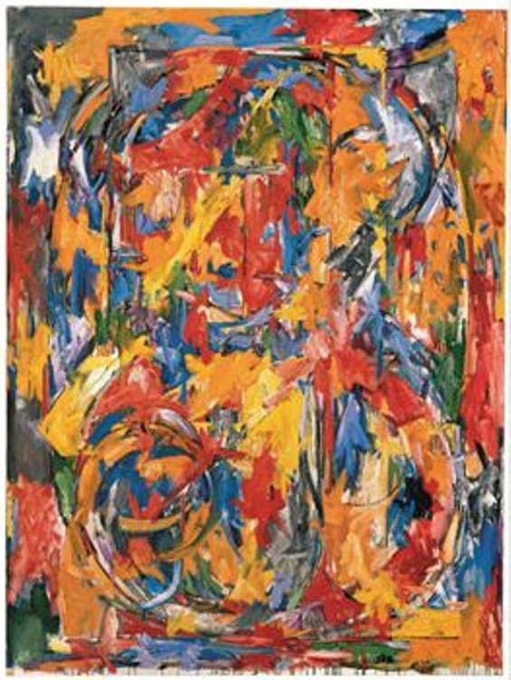 Jasper Johns, 0 through 9, 1960; oil on canvas. - © JASPER JOHNS / LICENSED BY VAGA, NEW YORK, NY