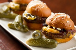 COURTESY OF JASPER'S - Jasper's Corner Tap knows its way around a beef slider.