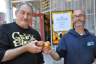 Jeff Mason (left) and Dave Knopp. - JESSE FRIEDMAN/BEER & NOSH