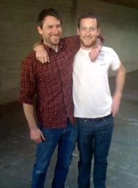 Jerad (left) and Justin Morrison.