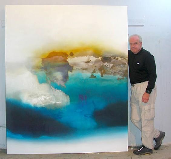 Jeremy Morgan in his studio.