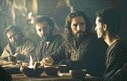 PHILIPPE  ANTONELLO - Jesus Christ, Superstar: Jim Caviezel - (center right) in the Last Supper scene.