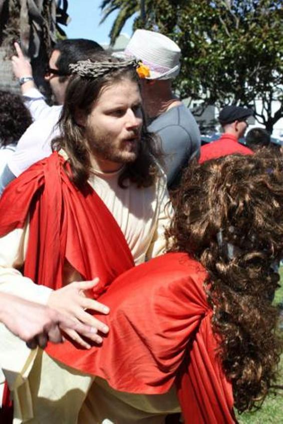 Jesus Fucking Christ. - MARC HUESTIS
