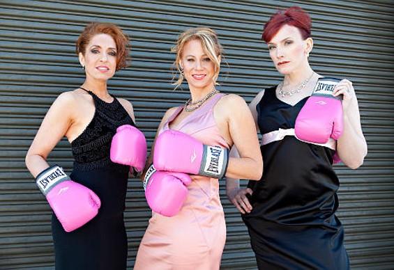 Jill Bourque, Liz Grant, and Natasha Muse - SHANNON CASEY SPLAIN