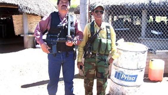 Joaquin Guzman, America's buddy