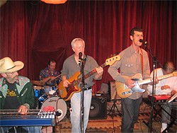 Joe Goldmark (far left) and the Seducers