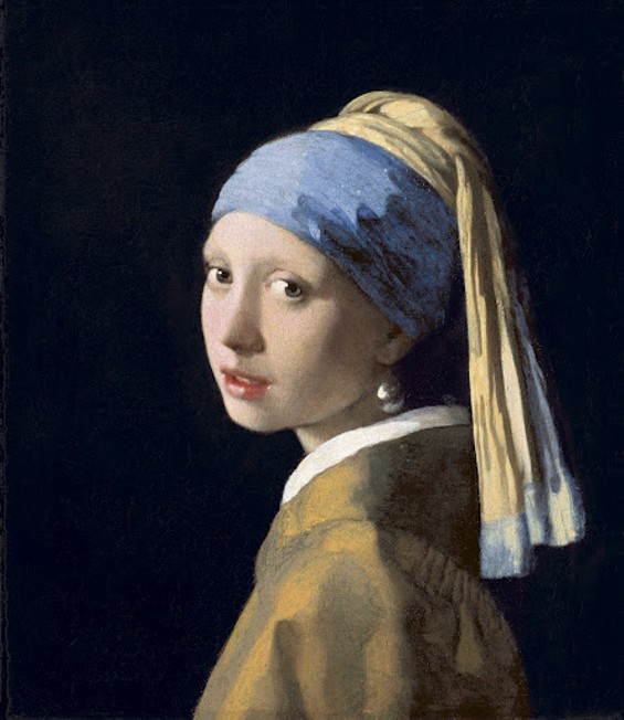 Johannes Vermeer's Girl with a Pearl Earring (c. 1665) - ROYAL PICTURE GALLERY MAURITSHUIS