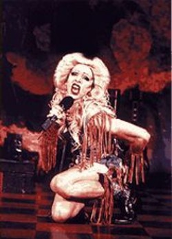 John Cameron Mitchell's international phenomenon - Hedwig and the Angry Inch makes its local - premiere, featuring Kevin Cahoon as the transsexual - rocker.
