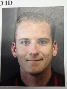 "John ""Jack"" Nelson is accused of graffiti-bombing the Hibernia Bank Building"