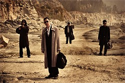 MAGNOLIA PICTURES - Johnnie To regular Anthony Wong (front) plays a hit man in To's latest.