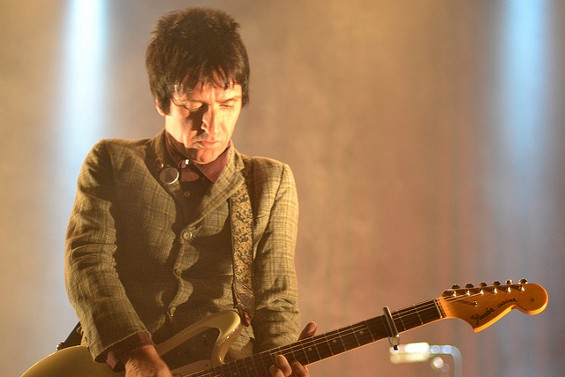 Johnny Marr live at The Fillmore on April 13. - MISSY BUCHANAN