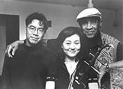 Jon Jang, Jiebing Chen, and Max Roach are the Beijing Trio.