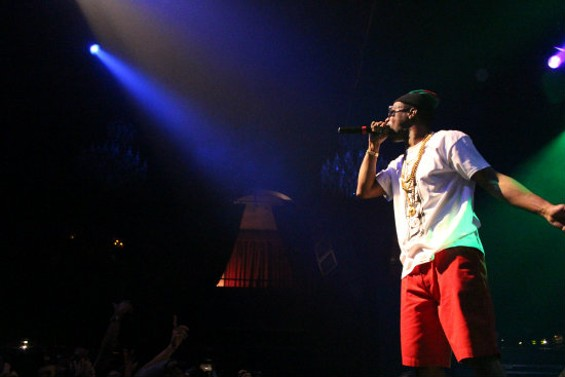 Juicy J at the Fillmore last night.