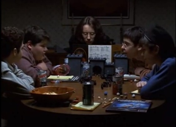 "Just a little D&D on a Friday night - ""FREAKS AND GEEKS"" NBC/YOUTUBE"