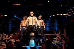 Just because Magic Mike (Channing Tatum) is from Florida doesn't mean he's leading a boy band.