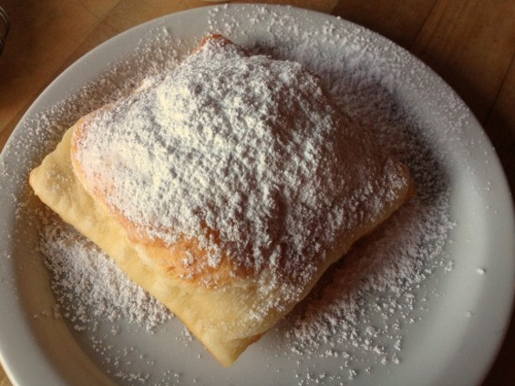 Just For You's Beignet - ALEXIS KATSILOMETES