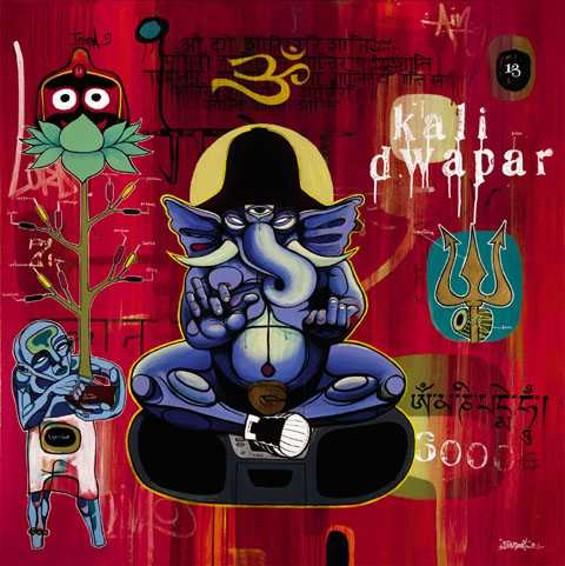 """""""Kali Dwapar"""" - DOZE GREEN"""