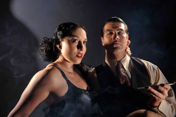 Kara Emry and Eric Tyson Wertz in The Drug - DAVID ALLEN