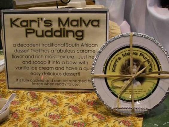 Kari's Malva Pudding: Ready for Recchiuti. - T. PALMER