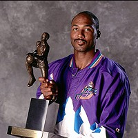 The 20 Worst Fathers in History Karl Malone: It's always worse with hypocrisy. Other NBA players leave the mailman in the dust, spreading-seed wise (he only has three kids out of wedlock, two the product of an extramarital affair). But he did knock up NFL prospect Demetrius Bell's mom when she was just 13, and Malone was a college sophomore. Malone has still never spoken with Bell.