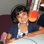 Kassaundra in the studio.