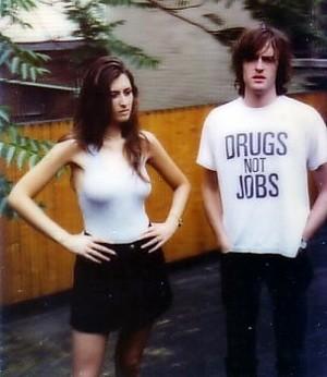 Kate Radley and Jason Pierce